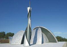 Islamic Center and Mosque in Rijeka, Croatia Mosque Architecture, Sacred Architecture, Architecture Magazines, Religious Architecture, Contemporary Architecture, Architecture Models, Islamic Center, Modern Church, Beautiful Mosques