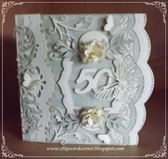 Elly's Card Corner: Scalloped Borders One