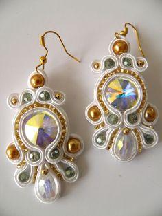 soutache handmade jewelry by caricatalia.deviantart.com on @deviantART