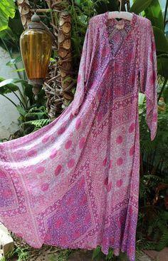Vintage India Adini pink dress