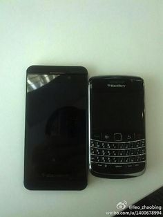BlackBerry 10 L-Series images leak online    Leaked photos of the Blackberry 10 L-series have surfaced on the net.