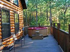 """Beavers Bend Cabin """"Autumn Pointe"""" located in Southern Hills area just right outside of Beavers Bend State Park in Oklahoma."""