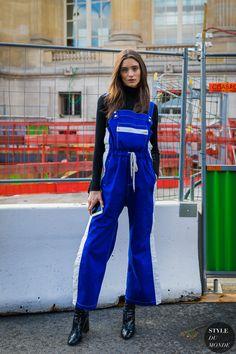Paris SS 2018 Street Style: Carolina Thaler