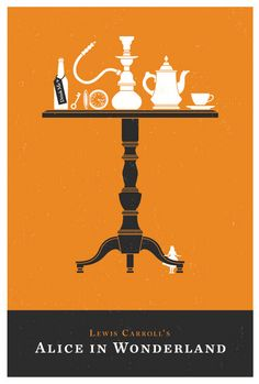 Olly Moss' Alice and Wonderland and Flight of the Conchords Prints (Onsale Info) - OMG Posters!