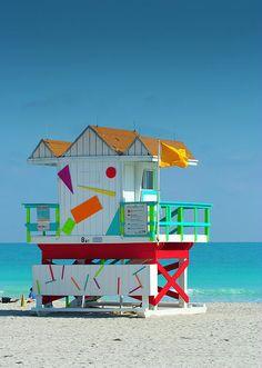 Miami lifeguard shack