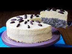 Tak delikatny, że nikt się nie oprze! Bardzo SZYBKI w przygotowaniu makowiec! | Smaczny.TV - YouTube No Cook Desserts, Cake Cookies, Tofu, Vanilla Cake, Poppies, Seeds, Nail Designs, Baking, Recipes