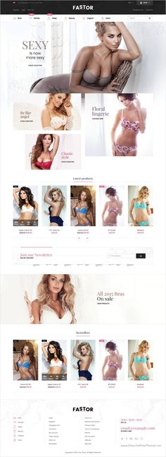 Fastor is a beautifully design responsive #Shopify Theme for stunning #lingerie #undergarments eCommerce website with 50+ multipurpose homepage layouts download now➩ https://themeforest.net/item/fastor-multipurpose-responsive-shopify-theme/18389593?ref=Datasata