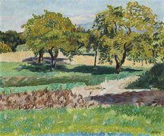 Hans Berger - Journée d'automne - Huile sur toile, 45 x 55 cm. Studio Art, Art Studios, Thesis, Artist, Painting, Oil On Canvas, Autumn, Painting Art, Paintings