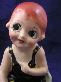 Betty Boop chalkware carnival doll 1920's-30's (please follow minkshmink on pinterest)