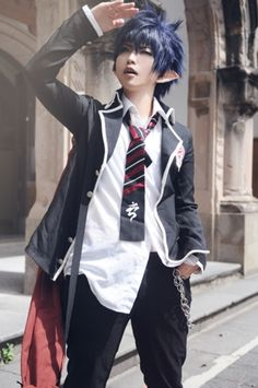 cooool (Cosplay Rin Okumura Ao no Exorcist/ Blue Exorcist)
