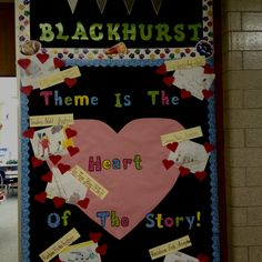 Theme Valentines Day Bulletin Board