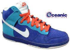 """new arrival 3d843 31c31 Nike Dunk High SB inspired by """"Oceanic Airlines"""