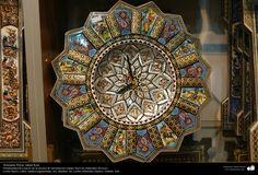 Artesanía Persa- Jatam Kari (Marquetería y Ornamentación de objetos) - 61 | Galería de Arte Islámico y Fotografía