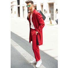 Red for Gian Maria. #redsuit #menswear #menstyle #style #fashion #luxury #lifestyle #men_inspiration #menstyleguide #menstylefiles #dappertradition #fashiorismo #menwithclass #menwithstyle #throwbackthursday #flashbackfriday #malefashionblogger #menstyleblogger #sssourabh #fashionbysssourabh