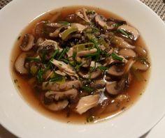 Finnish Wild Mushroom Soup Recipe