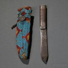 Ножны Лакота. Период 1870. Д. А.
