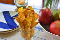 Parmesan Tortilla Crisps - Giada and The Food Network
