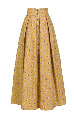 Comptesse skirt by LENA HOSCHEK for Preorder on Moda Operandi