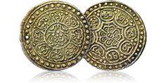 Ga-den Thangka - historyczna srebrna moneta z Tybetu