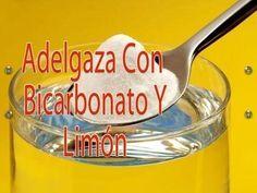 El bicarbonato con limón para adelgazar y cómo prepararlo
