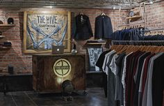 loft style store the hive clothing