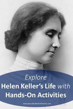 Cover of Explore Helen Keller's Life with Hands-On Activities Blog Post