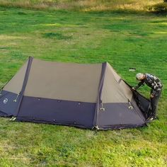 Twinpeak Wood Stove Tent with Awning: User Guide Video - Pickup Camping Cot, Kayak Camping, Camping Life, Camping Hacks, Camping Hammock, Camping Tools, Truck Camping, Bushcraft Camping, Backpacking Gear