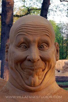 This made me laugh Sand Sculpt by Villafane