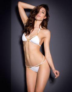 77c3a6e3d0 CeeCee Bikini Top White Swimwear