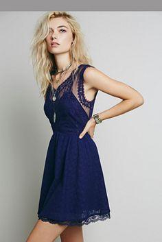 Free People Womens Victoria Mini Dress