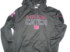 7782380a6 Orleans Darkwa Player Issued New York Giants  26 Nike Breast Cancer  Awareness Hoodie