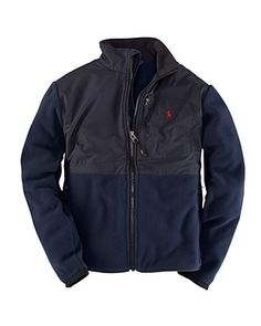"Ralph Lauren Childrenswear Toddler Boys' ""Expedition"" Fleece - Sizes 2T-4T  Orig $89.50  Sale $53.70"