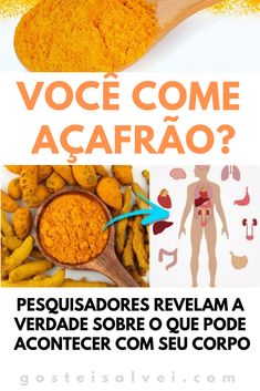 Você Come Açafrão? Pesquisadores Revelam a Verdade Sobre o Que Pode Acontecer Com Seu Corpo! CLIQUE NO PIN para conferir! Food Network Recipes, Dog Food Recipes, Best Body Cleanse, How To Detox Your Body Naturally, Best Way To Detox, Eco Slim, Experiment, Dehydrator Recipes, Nutrition Guide