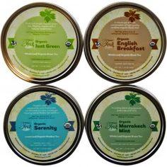 Organic Loose Leaf Tea Sampler