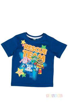 T-shirt Robocar Poli gris chiné https://www.toluki.com/prod.php?id=979 #enfant #Toluki #robocarpoli