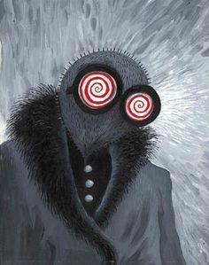 Tim Burton's illustration