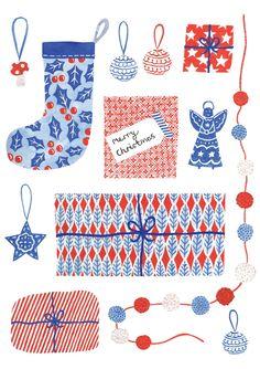 Nordic Christmas, Noel Christmas, A Christmas Story, Christmas Design, Christmas Greetings, Winter Christmas, Christmas Themes, Vintage Christmas, Christmas Crafts