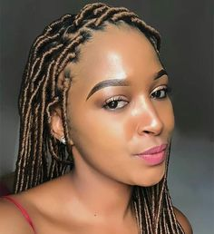 Crochet braid styles 747527238127232833 - These are so pretty. REPOST Source by djemedzamvou Faux Locs Hairstyles, Braids Hairstyles Pictures, Crochet Braids Hairstyles, Braided Hairstyles For Black Women, African Braids Hairstyles, Twist Hairstyles, Fancy Hairstyles, Natural Hair Braids, Braids For Black Hair