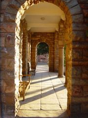 Hallowed entrance at Jeppe Boys
