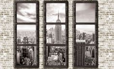 Wall mural paper New York view cm Buy photo wallpaper New York view cm from HORNBACH Photo Wallpaper, Cool Wallpaper, Wallpaper Murals, New York Tapete, Manhattan, New York Pictures, Skyline, Paper News, Buy Photos