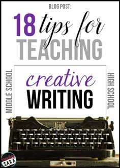 Creative writing in the classroom: five top tips for teachers