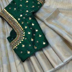 Saree Blouse Designs: Latest & Evergreen collections of 2019 Wedding Saree Blouse Designs, Best Blouse Designs, Pattu Saree Blouse Designs, Half Saree Designs, Blouse Neck Designs, Pattern Blouses For Sarees, Jute, Maggam Work Designs, Designer Blouse Patterns