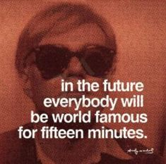 """Great Andy Warhol sale on prints . """"Art is what you can get away with"""" ~ Andy Warhol Andy Warhol Quotes, Andy Warhol Art, Famous Words, Famous Quotes, Up Book, New York, World Famous, Famous Art, Famous Faces"""