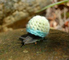 Teeny Tiny  Snail Sweater | Bored Panda