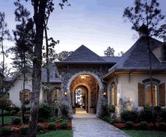 French Style Southern Home Finished 1