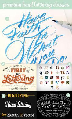 premium online hand lettering classes