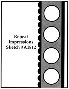 Repeat Impressions Sketch A1812. Play along with our WHAT IF? Wednesday Sketch Challenges for your chance to win a Repeat Impressions gift certificate! - http://www.thehousethatstampsbuilt.com - #repeatimpressions #rubberstamps #cardmaking