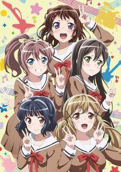 Nueva imagen promocional del Anime BanG Dream!.