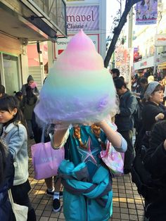 Cotton Candy from Totti Candy Factory, Harajuku, Tokyo, Japan Source by Sitedetailleplus Tokyo Japan Travel, Japan Travel Guide, Go To Japan, Japan Trip, Tokyo Trip, Tokyo 2020, Okinawa Japan, Asia Travel, Japon Tokyo