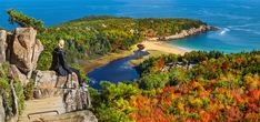 Essential Weekend Guide to Acadia National Park and Bar Harbor Maine » Carry-On Traveler Acadia National Park, National Parks, Bar Harbor Inn, New England Style, Green Grass, The Great Outdoors, Maine, Island, Explore